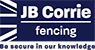 JB Corrie Fencing - Be Secure in our Knowledge